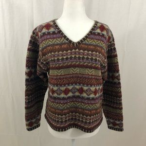 Woolrich Wool Sweater, Size Small